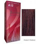 Berina Hair Colour Cream Permanent A12 -Red Violet Blonde colour
