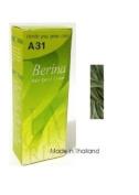 Berina Hair Colour Cream Permanent A31 -Blonde Grey Green colour