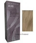 Berina Hair Colour Cream Permanent A38 -Light Ash Blonde colour