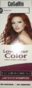 CoSaMo -Love Your Colour- Ammonia & Peroxide Free Hair Colour #780 Auburn