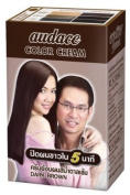 Audace Colour Cream Hair Dry 5 Minute, Dark Brown 13 G. Pack of 6