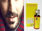 BEARD FACIAL HAIR GROWTH Sideburn Moustache growth SERUM 15ml Ginseng & Ginkgo