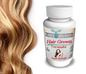100% Safe Herbal Hair Growth Pills for Longer, Thicker Hair
