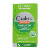 Nutreov Capileov Double Action Anti-Hair Loss Capsules x30