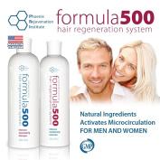 #1 Hair Growth System - Formula 500 Hair Regeneration System - Shampoo and Conditioner 240ml each
