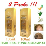 2 x 100 ML HAIR GROWTH TONIC EXTRA Bio Woman Re-Hair HAIR LOSS