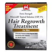 Minoxidil-5% Extra Strength Hair Regrowth for Men, 6 Month Supply