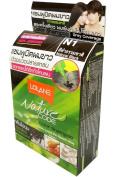 Lolane Nature Code Hair Colour Shampoo Natural Black Hair Dye with Pearl Milk & Natural Extract