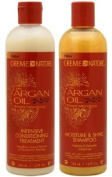CREME OF NATURE Argan Oil Moisture Shine Shampoo & Intensive Treatment Set