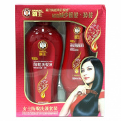 Bawang Lady Anti-fall Shampoo 400ml & Nutri Repairing Conditioner
