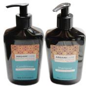 ArganiCare Organic Argan Oil Shampoo & Conditioner for Dry/Damaged hair