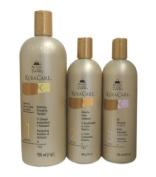KeraCare Hydrating Detangling Shampoo 950ml, KeraCare Humecto Conditioner 470ml, KeraCare Oil Moisturiser with Jojoba Oil 470ml Combo Set
