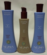 Neuma Sulphate Free Moisture Shampoo 300ml Conditioner 250ml And Smoothing Creme