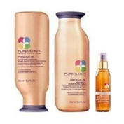 Pureology Precious Oil Shamp'Oil (8.5oz), Conditioner (8.5oz) & Oil (4.2oz) Trio