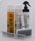 Soft-Coated Wheaten Terrier Coat Care Grooming Kit.
