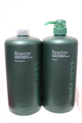 Clay Esthe Reshtive Pump Set - Shampoo & Pack