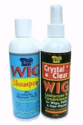 Wig Shampoo and Lusterizer Set