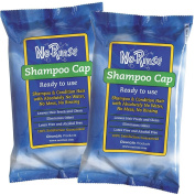 No Rinse Shampoo Cap Each - 2 Pack