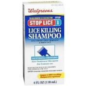 Walgreens Stop Lice Killing Shampoo, 120ml