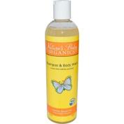 Nature's Baby Organics Shampoo and Body Wash Vanilla Tangerine