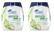 SCS Head & Shoulders 2-in-1 Shampoo & Conditioner - 2/700ml x2