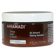 Shea Hair Cream, All Around Styling Solution from Hamadi Hair Care [4 oz.]