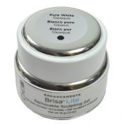 CND Brisa Lite - Removable Sculpting Gel - Pure White-Opaque - 15ml / 14g