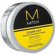 PAUL MITCHELL MEN by Paul Mitchel MITCH CLEAN CUT MEDIUM HOLD/SEMI-MATTE STYLING CREAM 90ml PAUL MI