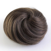 New Clip in Ponytail Bun Scrunchie Drawstring Hair Extension Synthetic Hairpiece