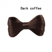 Lady Gaga Style Bowknot Hair Extension Fashion Hairpiece with Metal Clips