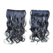 Clip in Synthetic Long Curly Hair Extensions with 5 Clips-PP19
