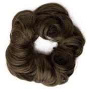 Fun Bun Synthetic Hair Scrunchie 12 Light Ash Brown