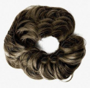 Fun Bun Synthetic Hair Scrunchie 14A Dark Ash Blonde