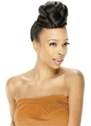 TOP JUJU - Model Model Glance Top Star Series BUN Synthetic Hair Dome