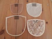 . Bases for Crown Extension, Lace Closure, Top Piece, Toppers, Topette, Toupee