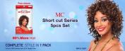 Michelle Human Hair Short Cut Series Spiral Roll 5pcs #27