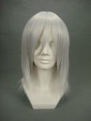Ruler Short Final Fantasy-kadaj White Anime Cosplay Wig