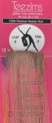 Teezims Glitter Hair Extensions 100% Premium Human Hair 46cm