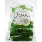 Simply Gentle Organic Cotton - Pack of 100 Balls