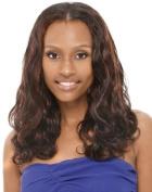 THE M 100% Human Hair Quality Body Wvg. 30cm #1B