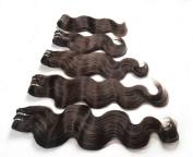 Foxy Hair Extensions Virgin Brazilian Hair Body Wave Grade AAA 100g