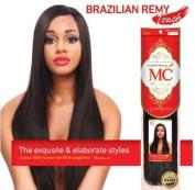 Michelle Human Hair Blend Weave Brazilian Remy Touch Yaki 25cm Red Colour