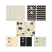 Park Bench Patterned Envelopes 6/Pkg-