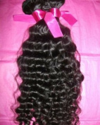 100% Authentic Virgin Brazilian Remy Hair Curly/deep wave