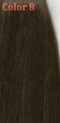 36cm Silky Straight 100% Human Hair Clip On In Extensions 7 Piece Set