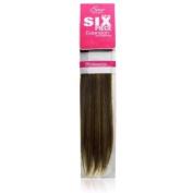 Evita 100% Human Hair Six Piece Clip In Extension 36cm Colour F27/30