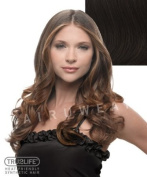 Tru2Life Styleable Extensions - 60cm Wavy Clip In Extension - R6-Dark Chocolate/Medium Brown
