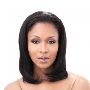 Chynah - Half Wig 41cm Length Natural Silky Straight Texture - 100% Human Hair