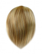 Tressecret Remy Human Hair Coverage Piece, Piano Platinum Blonde, 15cm