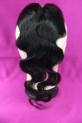 MID Part 4x4 Lace Closure 50cm 100% 24 Soft Brazilian Virgin Human Hair Body Wave